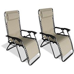Zero Gravity Chairs Chaise Lounge 2 Chairs Included