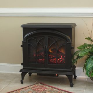 Fox Hill Electric Indoor Fireplace Stove Space Heater