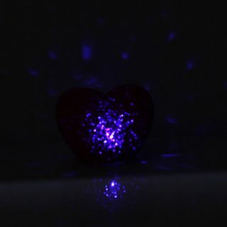USD $ 3.29   Sweet Heart Shaped Red Light Crystal LED Night Lamp