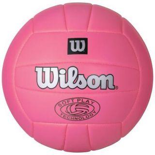 Play Outdoor Beach Volleyball Sport Game Ball Summer Pink New
