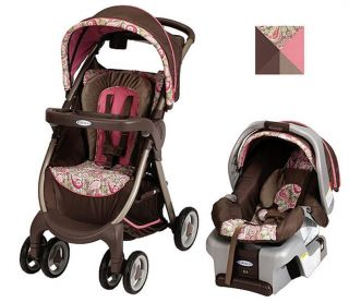 New Graco Baby FastAction Fold Travel System Stroller Jacqueline