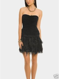 Marciano Guess Inez Feather Fringe Dress s Hot