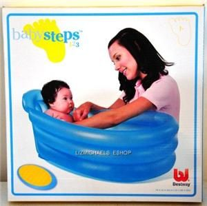 WOW Bestway Inflatable Baby Bath Tub Portable Travel