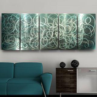 Abstract Metal Wall Art Decor Sculpture Pure Infatuation