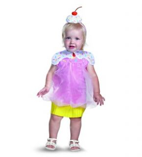 Cupcake Cutie Costume w Headband Infant 12 18 Months New