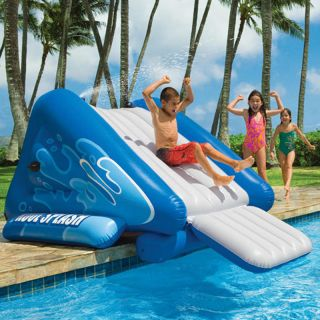 Intex Kool Splash Inground Inflatable Swimming Pool Water Slide