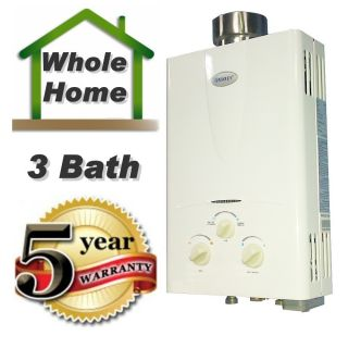 Water Heater 3 1 GPM Natural Gas Instant hot water On Demand Marey