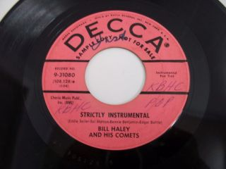 Haley Comets 1960 Decca Promo Strictly Instrumental Music Music