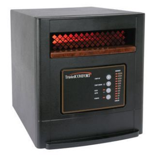 NEW EdenPURE GEN 4 Quartz Infrared Zone Heater  1500 Watts   Remote