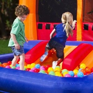 Ball Kingdom Commercial Inflatable Bounce Play House Kids Jump Heavy