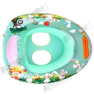 Inflatable Swimming Swim Baby Seat Float Ring Water Pool Fun