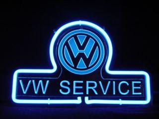 Volkswagen VW Service 3D Neon Light Sign SD252