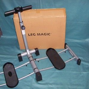 Leg Magic Exercise Machine Tones Tightens Legs Thighs