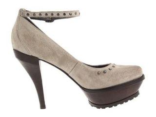 Womens Shoes $225 Donald Pliner Inola Platform Leather Pump Gray 7 5