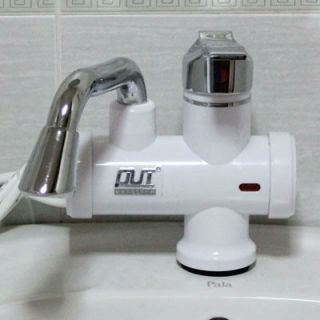 Sink Mounted Instant Electric Water Heater Cold Hot Mixer Tap H5