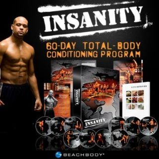 Insanity 60 Day Total Body Workout Complete