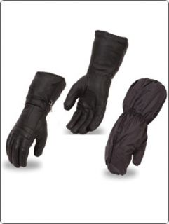 Men s Winter Gloves Insulated Rain Gloves Gauntlet Rain Mitt XS s M L