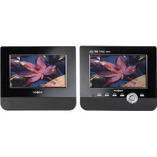 Insignia NS D7PDVD 7 Dual Screen Portable DVD Player