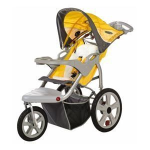 Instep Grand Safari Jogging Stroller Yellow Brand New
