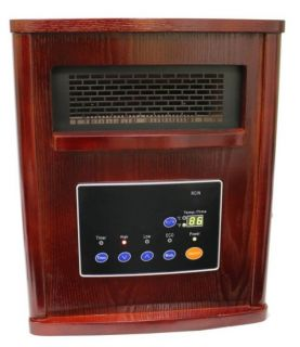 Network Discovery SND 1500 3 1500W Infrared Quartz Heater by LifeSmart