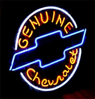 Chevrolet American Auto Beer Bar Neon Light Sign ME361