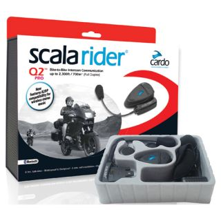 New Scala Rider Bluetooth Q2 Pro Bike to Bike Intercom