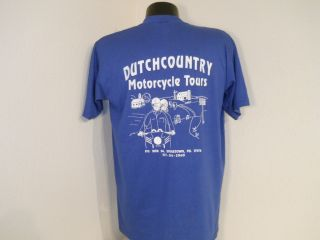 PA DUTCH COUNTRY MOTORCYCLE TOUR AMISH LANCASTER INTERCOURSE t shirt L