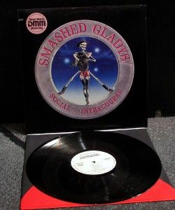 Smashed Gladys Social Intercourse LP WLP DMM Audiophile Vinyl UNPLAYED