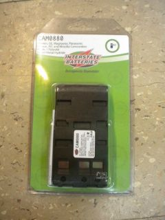 Interstate Batteries Camcorder Camera Replacement Battery CAM0880