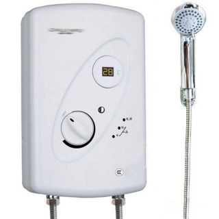 Freely Adjust Water Temp Instant Shower Electric Hot Water Heater