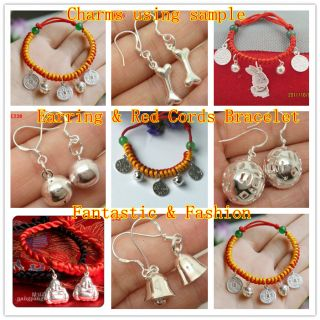 Amulet Sterling Silver Pendant Beads Fit Bracelet Charms SA605