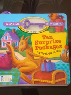 Innovative Kids Magic Key Book Ten Surprise Packages