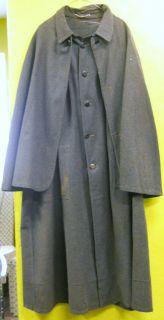 Vintage 1800s Wool Inverness Cape Coat Cloak