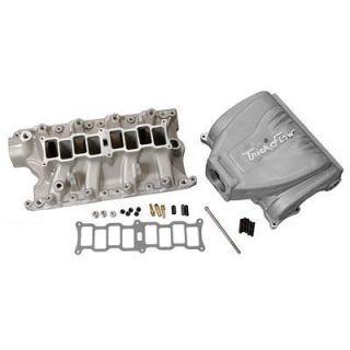 Intake Manifold R Series Alum Silver Powdercoated Multi Port Ford 351W