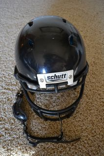 Schutt Black Football Helmet ion 4D Adult Large Used for 1 Game