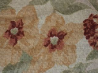 Imported Interior Design Spanish Linen Fabric x One MTR