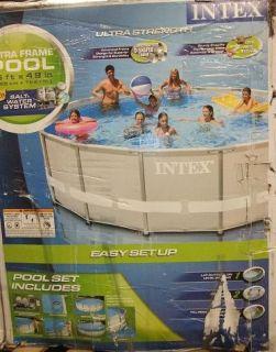 Intex 54469EG 16 ft x 48 Ultra Frame Metal Frame Pool Set