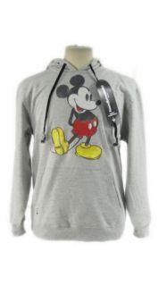 Hoodie Buddie Disney Classic Mickey Gray Pullover Sweatshirt