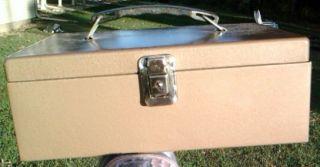 Metal Products Lock Box Cash Box Inwood L I N Y Vintage
