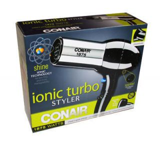 Conair Ionic Turbo Hair Styler Dryer 1875 Watt High Quality Brand New