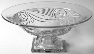 Heisey Elegant Glass Ipswich Footed Console Bowl