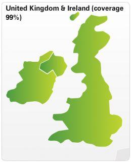 XL LIVE IQ Routes Regional   United Kingdom & Republic of Ireland
