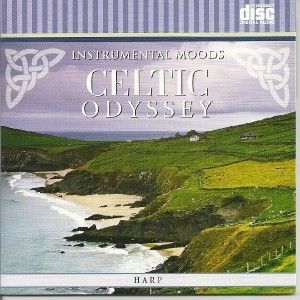 Irish Celtic Harp Instrumental Relaxation Music CD