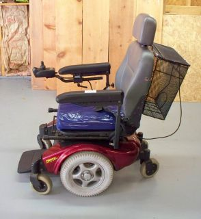 INVACARE PRONTO M91 SURESTEP MOTORIZED WHEELCHAIR W/ BASKET & NEW