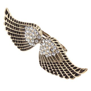 USD $ 6.69   Angel Wing Pattern Ring,