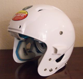 New Schutt White ion 4D Kids Youth Football Helmet Large
