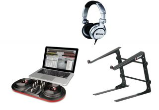 ION AUDIO iCUE3 DISCOVER DJ USB Turntable Computer System + Odyssey