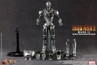 Scale Collectible Figure Iron Man Mark II Armor Unleashed