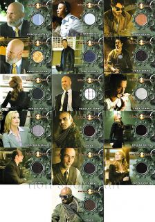 Iron Man Movie Costume Card Set 17