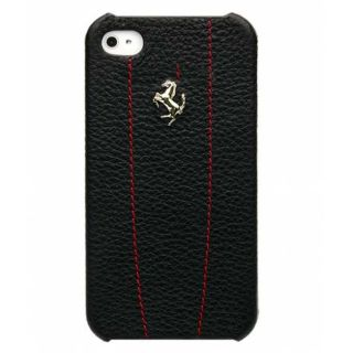 Officially Licensed Ferrari iPhone 4 4S Hard Case with Black Modena